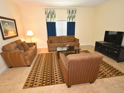 Photo for Family-Friendly Home near Golf w/ WiFi, Pool, LCD TV, Resort Gym & Game Room