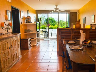 Photo for Penthouse 1 Bedroom Home with 2 Queen Beds and Chefs Kitchen at Bosque de los Aluxez