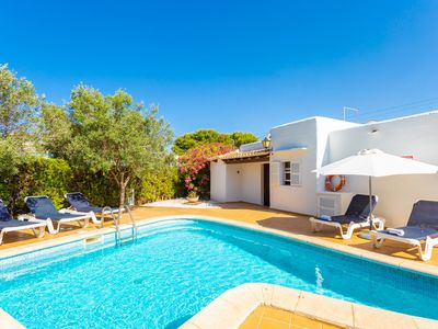 Photo for Villa Corb Mari: Large Private Pool, Walk to Beach, WiFi, Car Not Required