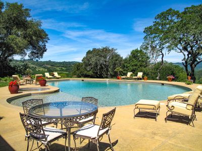 Photo for Sprawling 6BR Vineyard Estate w/ Pool & Valley Views, As Seen on the Bachelor