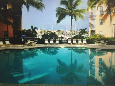 Photo for Well Decorated Condo with a Short Walk to the Marina