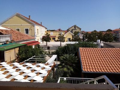 Photo for Four bedroom apartment with terrace Bibinje, Zadar (A-18275-b)