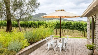 Photo for Yarra Valley vineyard cottage - premier location, relax, enjoy and breathe easy