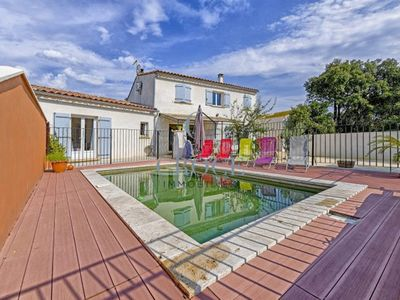 Photo for VILLA 8 BEDS WITH SWIMMING POOL UZES SAINT SIFFRET