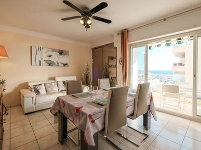 Photo for Nice sea view 1bedroom heart of Cannes !!