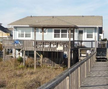Photo for E1 296 A vintage oceanfront 5 bedroom house, with 2 bedrooms on the ground level.