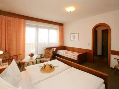 Photo for Triple room with shower or bath Bathroom, WC - Hauserhof, Pension