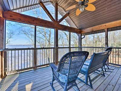 NEW! Secluded Lakefront Family Home w/Private Dock