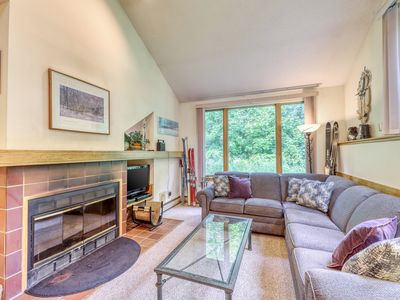 Photo for Dog-friendly condo w/ shared pool, hot tub & more, easy ski access - dogs ok!