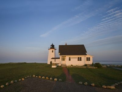 Photo for Unique and Historic Lighthouse w/ Attached Keepers House - Sweeping Ocean Views