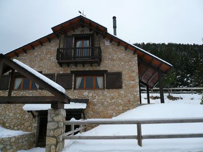 Photo for La Bruixeta, fantastic house for 9 pers. at the foot of the slopes in Port del Comte !!
