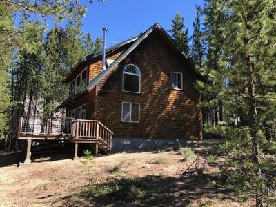 Photo for Unplugged Cabin on Crescent Creek for a Relaxing Winter Retreat!