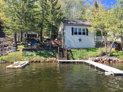 Photo for Long Lake/Washburn County - New Rental 2019! - Right on Water!