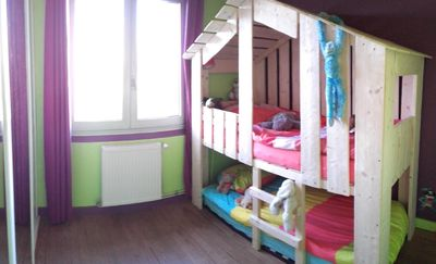 Photo for The house of the hut beds, 5 minutes from the center of La Rochelle and the beach