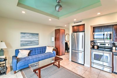 Book a trip to this spacious studio vacation rental apartment in Longboat Key!