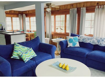 Photo for NEW LISTING! Carriage house Apartment with pool on Shore Road / Perkins Cove