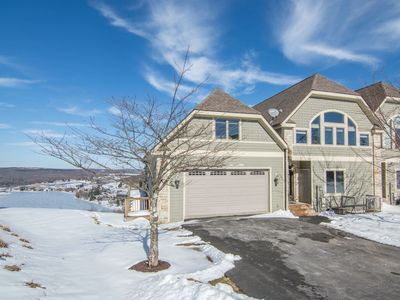 Photo for 602 Overlook Pass Road, #2C- 4 Bedroom Ski Area Townhome with Stunning Lake Views