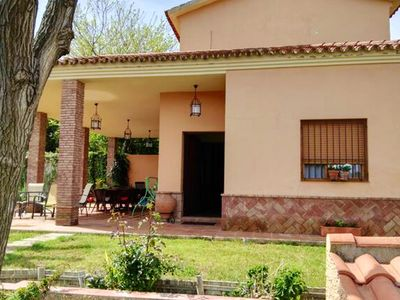 Photo for Homerez last minute deal - Spacious chalet with swimming-pool