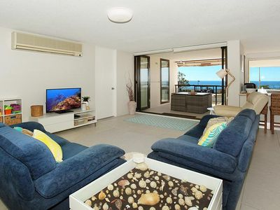 Photo for Ocean view 3 bedroom apartment located between Alexandra Headlands and Mooloolaba Beach