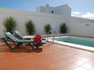 Photo for Villa with private pool and close to the main seafront