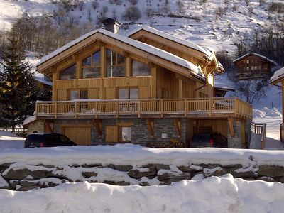 Photo for Superb Chalet Les Menuires 12 pers- Les 3 Vallées - the slopes