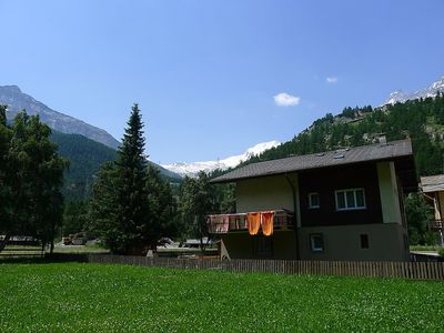Photo for 2BR Apartment Vacation Rental in Saas-Grund, Wallis