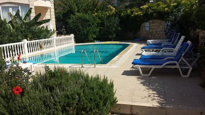 Photo for LUXURY 3 BEDROOM DUPLEX GROUND FLOOR APART SLEEP 6 PERFEC LOATION WITH POOL