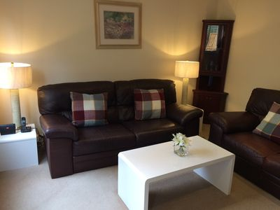 Photo for Beautiful 2 Bedroom Apartment with Patio Garden.