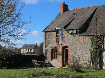 Photo for Country Cottage With Views Towards Le Mont St Michel