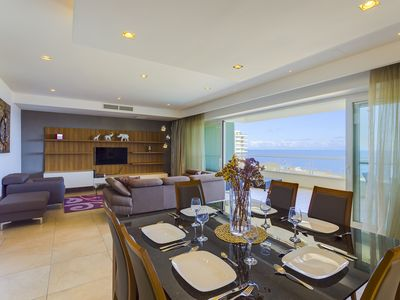 Photo for Luxury Seafront Oasis in central Sliema w/ Pool