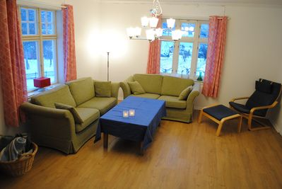 Main living room, seating area