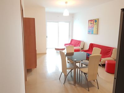 Photo for QAWRA MODERN 2 BEDROOM FLAT CORNER FROM SEAFRONT
