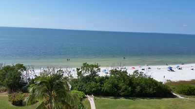 Photo for Deluxe Direct Beach Gulf Front. Enjoy Panoramic views From Your Private Balcony