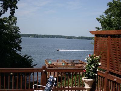 Photo for Main Lakefront Family Home,  Beach, Kayaks/SUPs, Boat Launch Near,  Dog Friendly