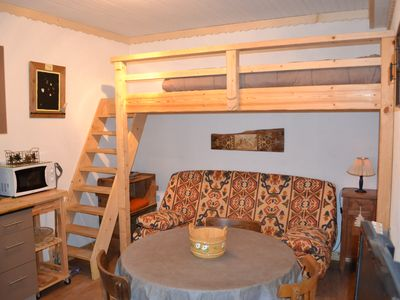 Photo for 2 bedroom apartment, in a chalet, independent access, covered parking