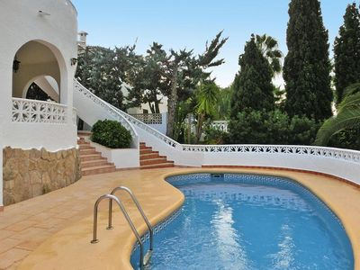 Photo for holiday home, Moraira  in Um Valencia - 8 persons, 4 bedrooms