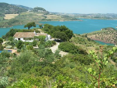 Photo for Idyllic Retreat With Private Pool, Stunning Lake/mountain Views And Internet