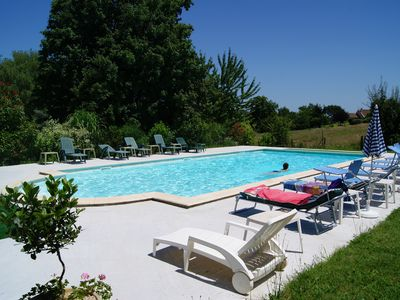 Photo for The Country setting, stone house, cottage 3 stars, terrace, near Sarlat.