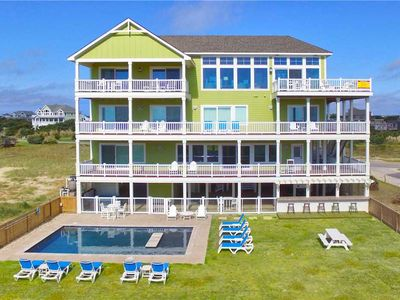 Photo for Oceanfront Luxury Home w/ Pool, Hot Tub, Elevator, Game Rm, Dog-Friendly & More