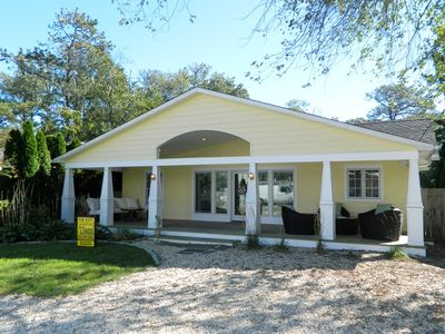 Photo for Spacious kid friendly ranch home (with W/D) just over a block to the beach!