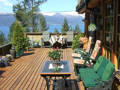 Photo for Vacation home Jondal in Kysnesstrand - 12 persons, 5 bedrooms