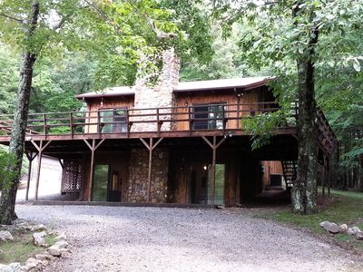 Photo for 5 Acres of Serenity Just Off The Blue Ridge Parkway
