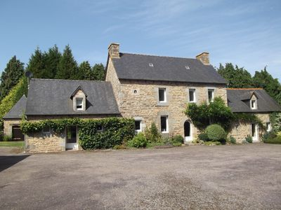 Photo for Beautiful 5 bedroom Breton country house & gardens to let