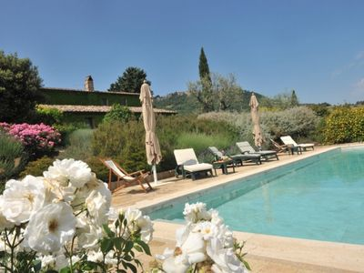 Photo for 5 bedroom Villa, sleeps 10 in Montefollonico with Pool, Air Con and WiFi