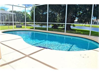 Private swimming pool with amazing view large lakefront lot, see wildlife daily