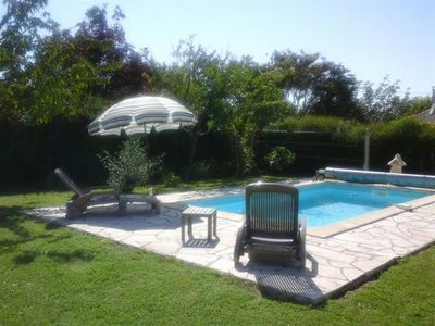Photo for Villa Semussac, 3 bedrooms, 6 persons