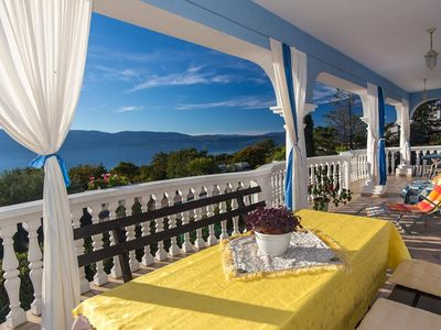 Photo for Lovely and romantic studio in Brzac, Island Krk, Croatia for 2 persons