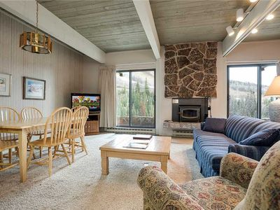 Photo for CB115 by Mountain Resorts: Amazing Views ~ Mountainside ~ Walk out patio