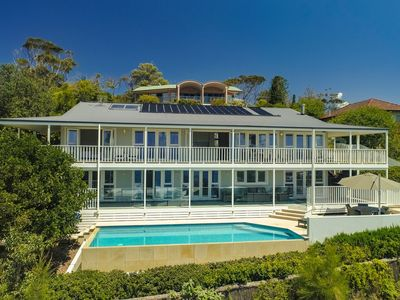 Photo for SALT DECK, AVOCA BEACH - HAMPTONS STYLE PROPERTY WITH POOL & AMAZING OCEAN VIEWS