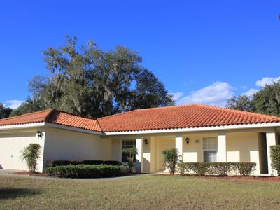 Photo for 3 bedroom and 3 bath villa with Private pool in the Inverness Villages, Next to Lakeside Golf Club